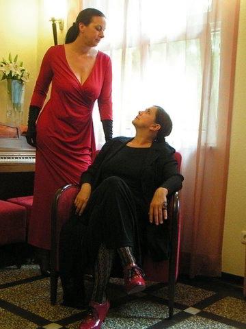 Jana Jürß (links), Helga Bürster (rechts) / Foto: © Privat